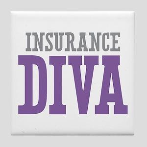 Insurance DIVA Tile Coaster