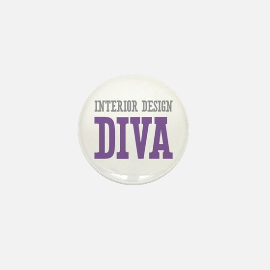 Interior Design DIVA Mini Button