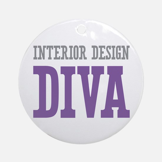 Interior Design DIVA Ornament (Round)