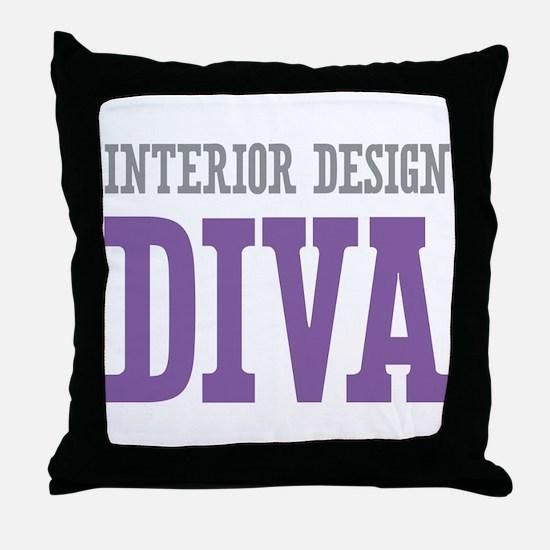 Interior Design DIVA Throw Pillow
