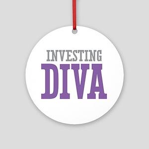Investing DIVA Ornament (Round)