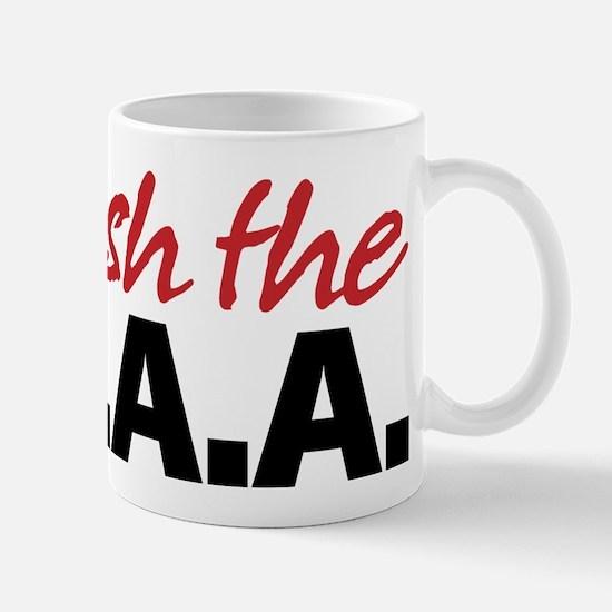 Abolish the NDAA Mug