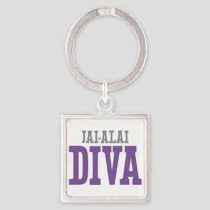 Jai-Alai DIVA Square Keychain