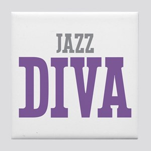 Jazz DIVA Tile Coaster