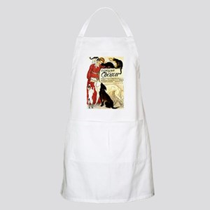 Cat Dog Lady pets BBQ Apron