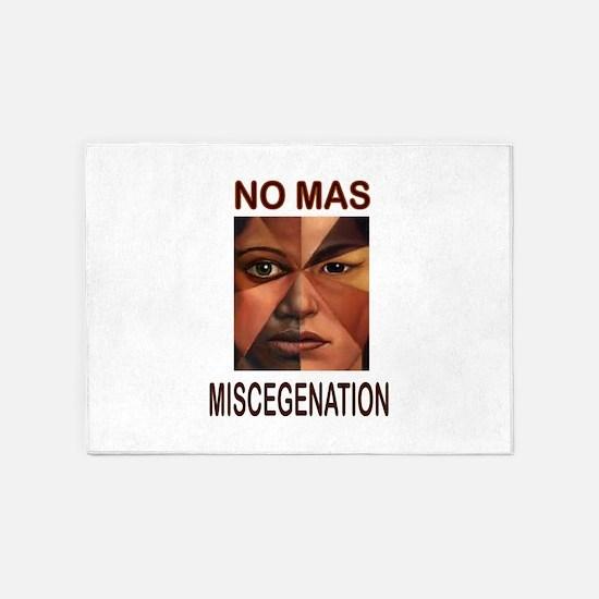 MISCEGENATION 5'x7'Area Rug