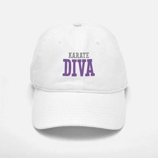 Karate DIVA Baseball Baseball Cap