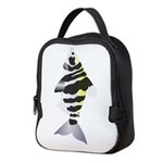 Highbacked Headstander fish v Neoprene Lunch Bag