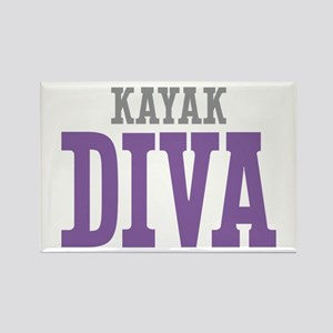 Kayak DIVA Rectangle Magnet