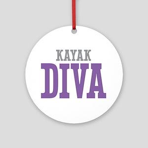 Kayak DIVA Ornament (Round)
