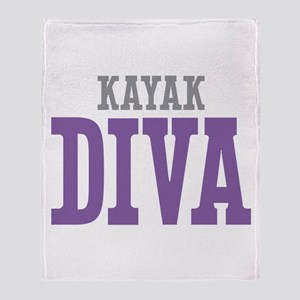 Kayak DIVA Throw Blanket