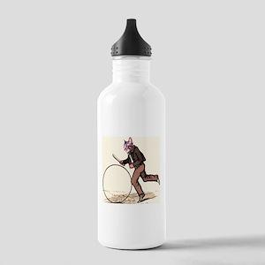 Big Wheel Cat Water Bottle