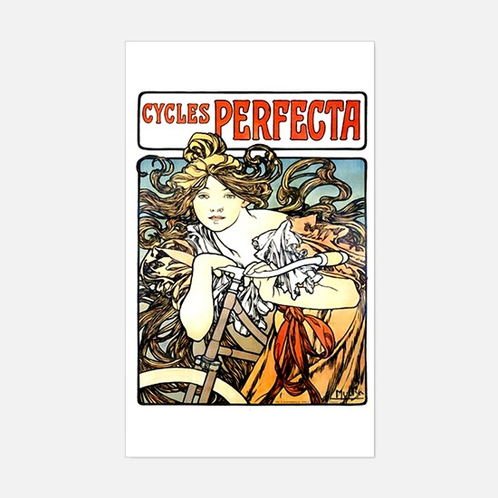 Cycles Perfecta Rectangle Decal