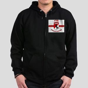 11TH ARMORED CAVALRY REGIMENT Zip Hoodie