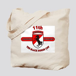 11TH ARMORED CAVALRY REGIMENT Tote Bag