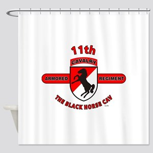 11TH ARMORED CAVALRY REGIMENT Shower Curtain