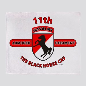 11TH ARMORED CAVALRY REGIMENT Throw Blanket