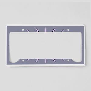 Psalm 33:20 Shield Purple License Plate Holder