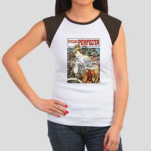 Cycles Perfecta Women's Cap Sleeve T-Shirt