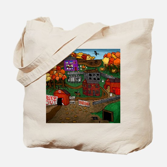 Unique Country towns Tote Bag