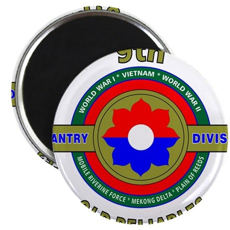 "9th Infantry Division""Old Reliables"" Army 2.25"" Ma"