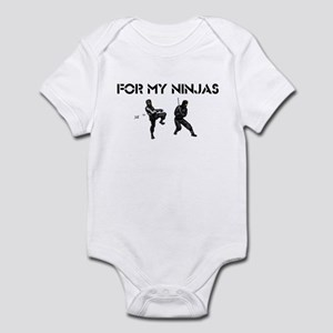 For My Ninjas Infant Bodysuit