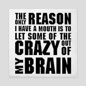 Crazy Brain Queen Duvet