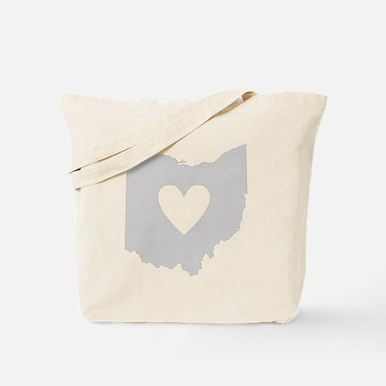 Heart Ohio Tote Bag