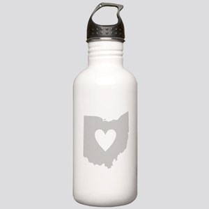 Heart Ohio Stainless Water Bottle 1.0L
