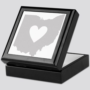Heart Ohio Keepsake Box
