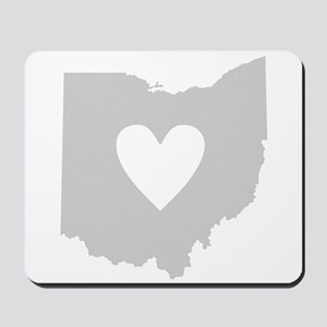 Heart Ohio Mousepad