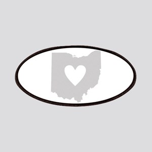 Heart Ohio Patches