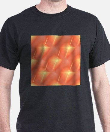 Fractal Orange Star T-Shirt