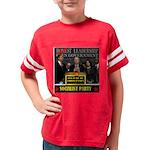 3-democrat terrorists Youth Football Shirt