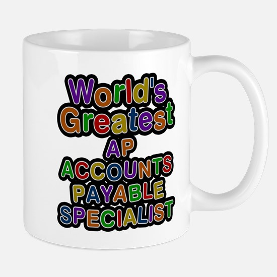 Worlds Greatest AP ACCOUNTS PAYABLE SPECIALIST Mug