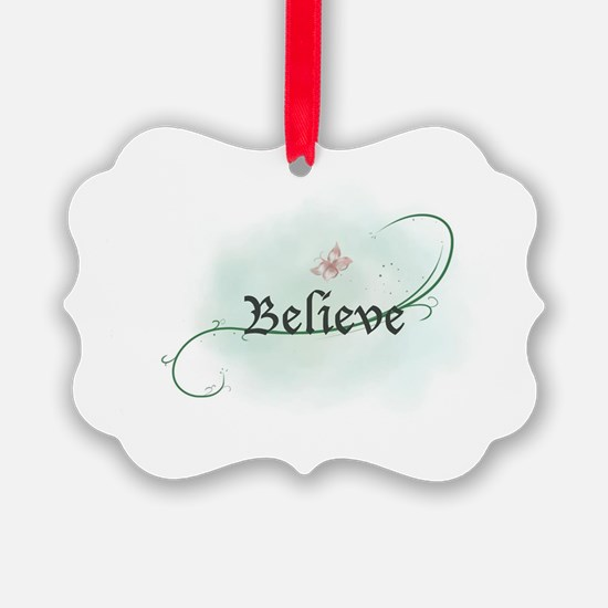 Believe and Grow Ornament