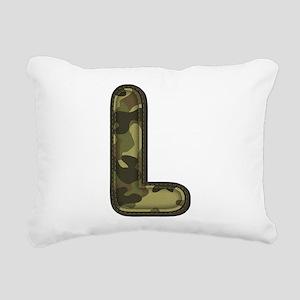 L Army Rectangular Canvas Pillow