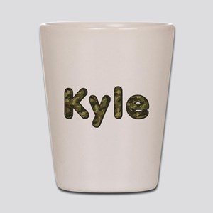 Kyle Army Shot Glass