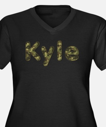 Kyle Army Plus Size T-Shirt