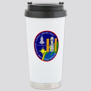 STS-103 Discovery Stainless Steel Travel Mug