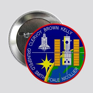 """STS-103 Discovery 2.25"""" Button"""