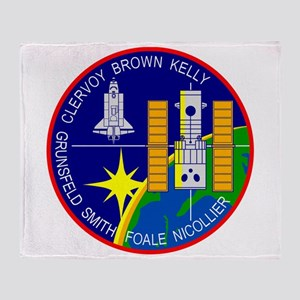 STS-103 Discovery Throw Blanket