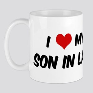 I Love My Son In Law Mug