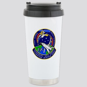 STS-108 Endeavour Stainless Steel Travel Mug