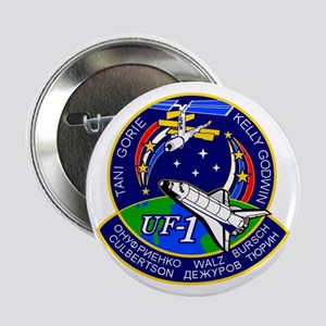 """STS-108 Endeavour 2.25"""" Button"""