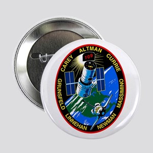 """STS-109 Columbia 2.25"""" Button"""