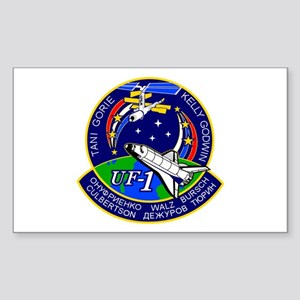 STS-108 Endeavour Sticker (Rectangle)
