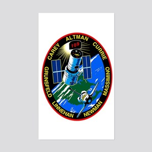 STS-109 Columbia Sticker (Rectangle)