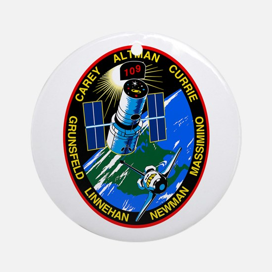 STS-109 Columbia Ornament (Round)