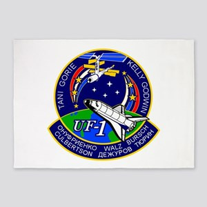 STS-108 Endeavour 5'x7'Area Rug